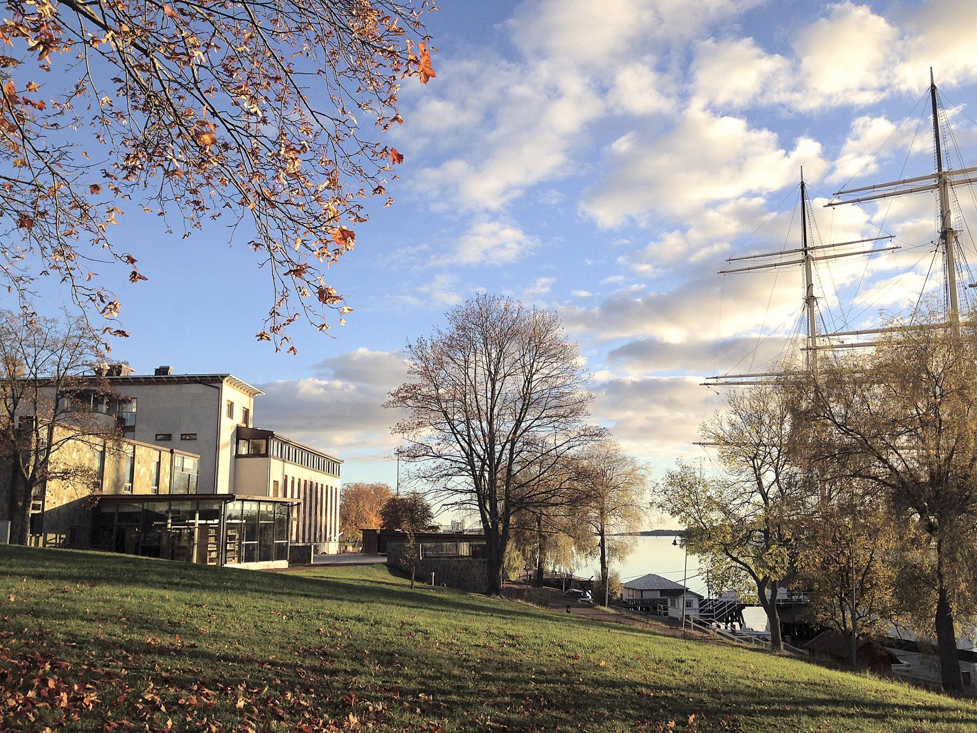 Ålands sjöfartsmuseum. Åland Maritime Museum.