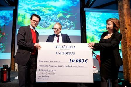 Kuva Mikko Reinikainen. Kuvassa vasemmalla Erik Båsk ja keskellä Jan Åkesson.