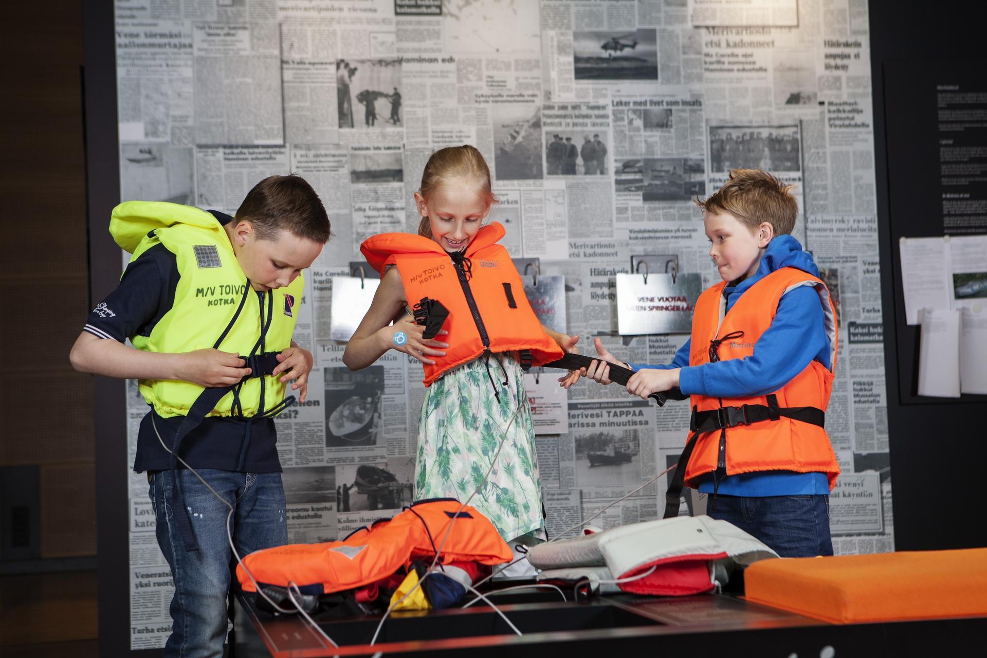 LOKI-projekti - Merikeskus Vellamo, Kotka - kuva Lasse Lecklin