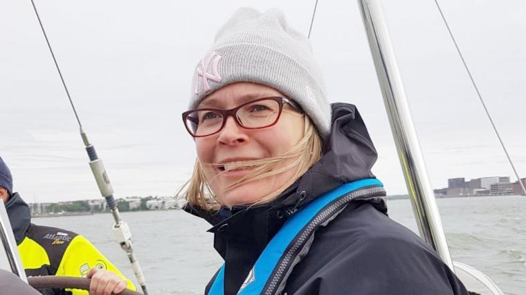 John Nurmisen Säätiön toimitusjohtaja Annamari Arrakoski-Engardt