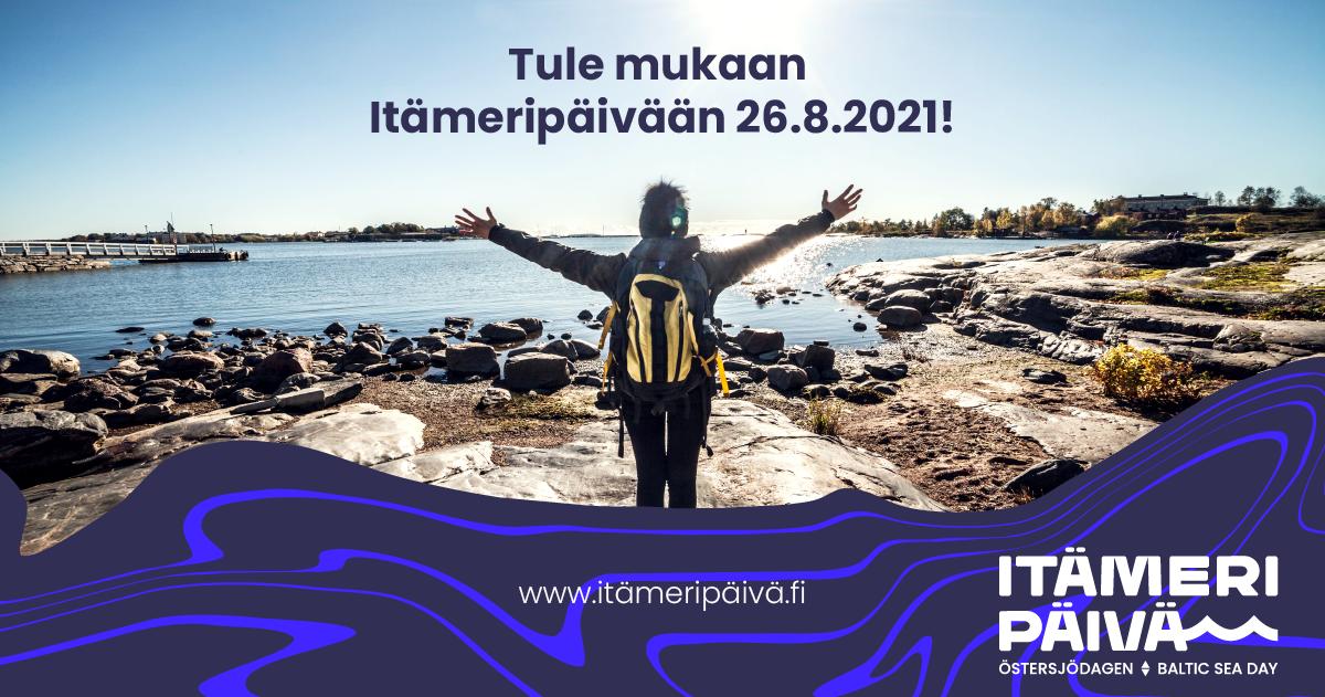 Tule mukaan Itämeripäivään 26.8.2021